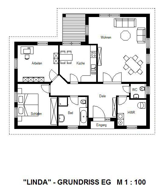 Winkelbungalow Linda - Team Haus
